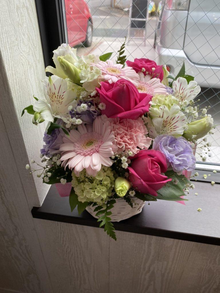 開店祝いお花